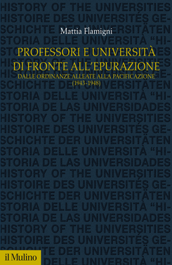 copertina Professori e università di fronte all'epurazione