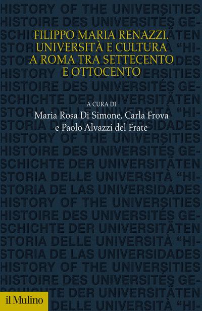 Cover Filippo Maria Renazzi