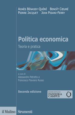 copertina Politica economica