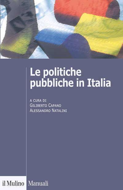 Cover Le politiche pubbliche in Italia
